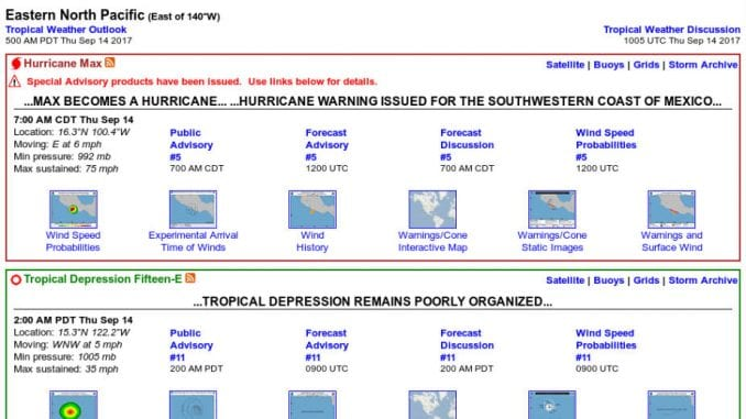 Izdato upozorenje za novi uragan Maks 4