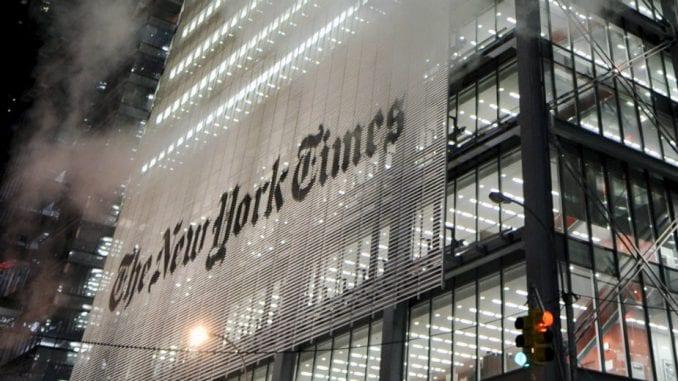 Njujork Tajms o akciji protiv medijskog mraka u Srbiji 1
