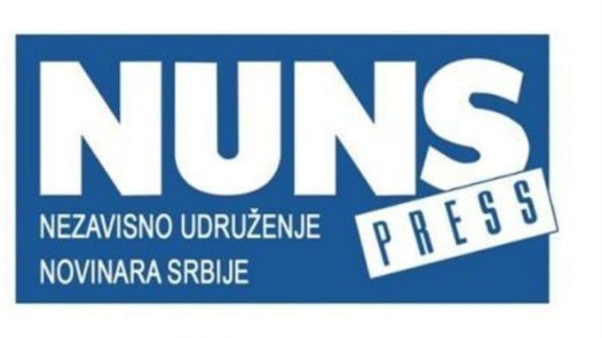 NUNS pisao EFJ: Pošaljite delegaciju u Beograd  (VIDEO) 1