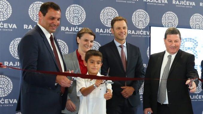 Premijerka i gradonačelnik otvorili Rajićeva Shopping Centar 1