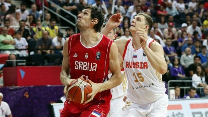 Poraz košarkaša od Rusije na Evropskom prvenstvu 1