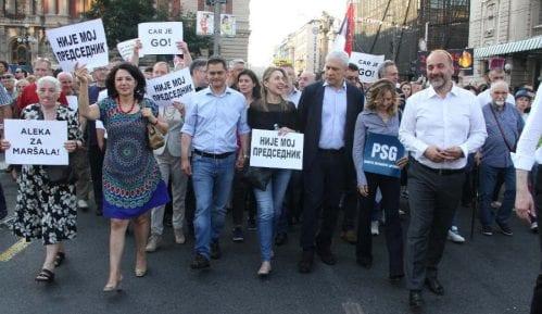 Janković okuplja opoziciju danas na Trgu republike 12