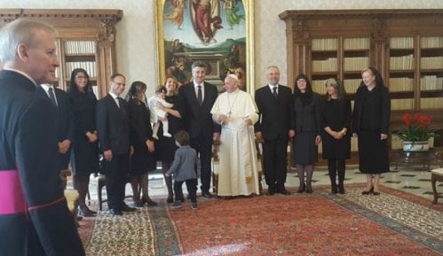 Plenković se sastao sa papom Franjom 11