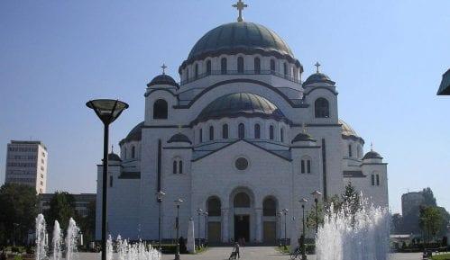 Patrijarh Irinej služio uskršnju liturgiju u Hramu Svetog Save 9
