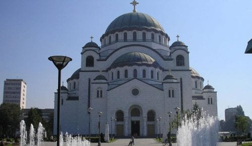 Patrijarh Irinej služio uskršnju liturgiju u Hramu Svetog Save 8