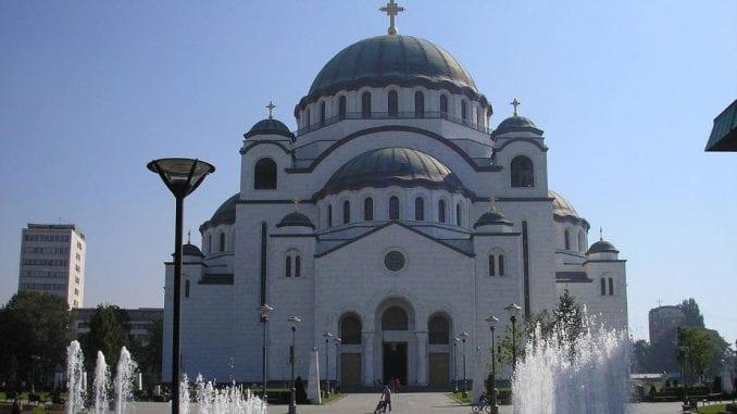 Patrijarh Irinej služio uskršnju liturgiju u Hramu Svetog Save 1