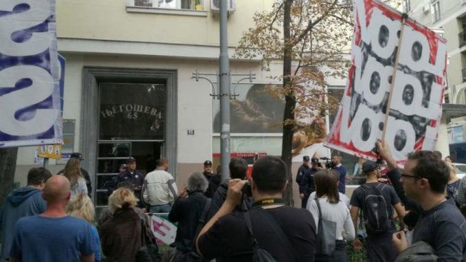Protest protiv privatnih izvršitelja 1