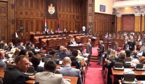 Gojković udaljila poslanicu Dveri  iz parlamenta 5