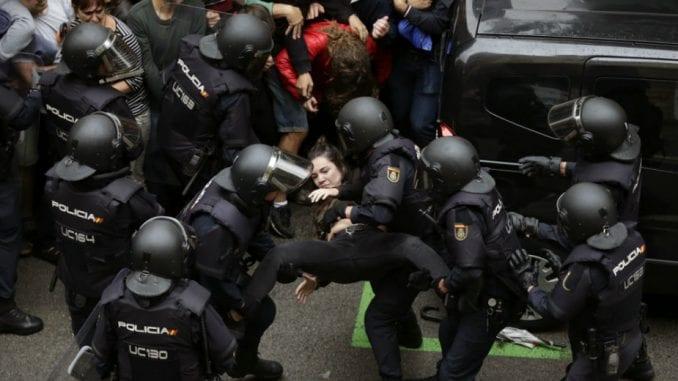 Referendum u Kataloniji: Više od 840 povređenih u neredima (VIDEO) 3