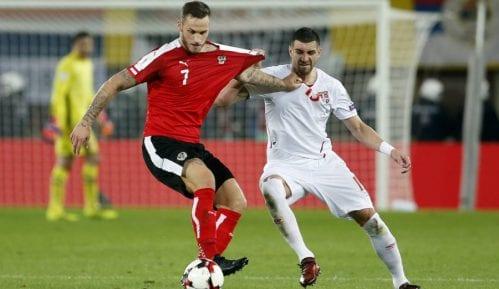 Reprezentacija Srbije izgubila od Austrije 1