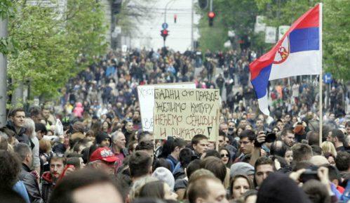 Još dvoje učesnika protesta Protiv diktature dobilo prijave 1