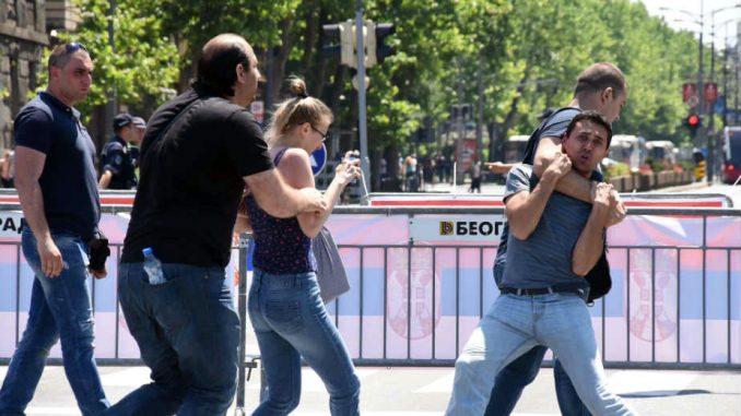 Lidija Valtner danas svedoči protiv nasilnika SNS 1