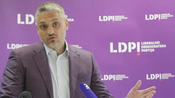 Jovanović: Niko nema pravo da dovodi u pitanje opozicionu ulogu LDP 4