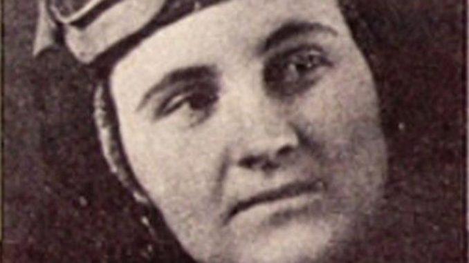 Marija Draženović Đorđević - Prva ratna pilotkinja 1