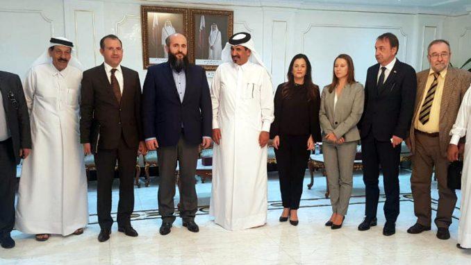 Zukorlić sa delegacijom Katara 1
