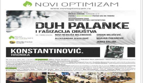 """Tribina """"Duh palanke i fašizacija društva"""" 9. novembra 10"""