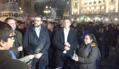 Manji protesti u Beogradu i Novom Sadu zbog presude Mladiću 6