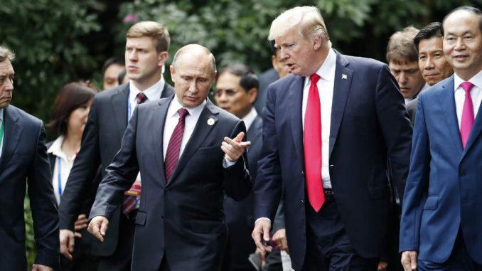 Putin pisao Trampu 1