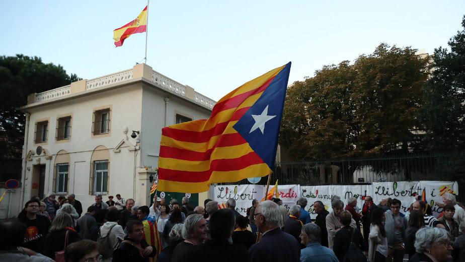 Ustavni sud Španije blokirao katalonski parlament 1