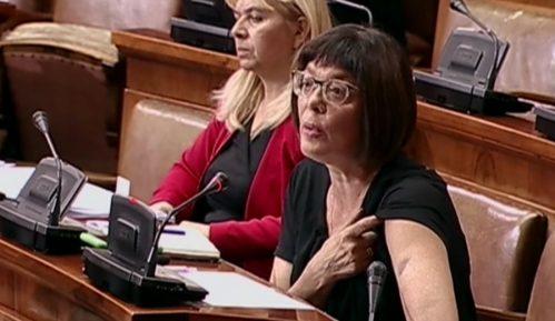 Gojković pokazala modricu; Obradović: Sama se povredila 13