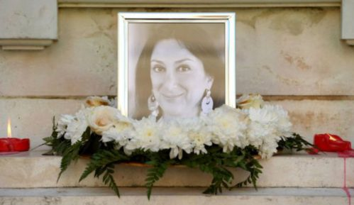 Malta: Sahranjena ubijena novinarka 5