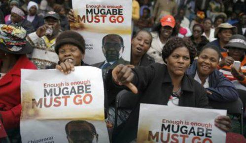 Građani na ulicama, traže odlazak Mugabea 14