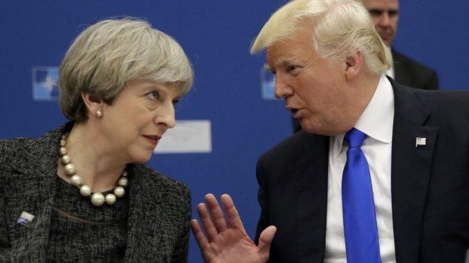 Tramp je i dalje dobrodošao u Britaniju 2
