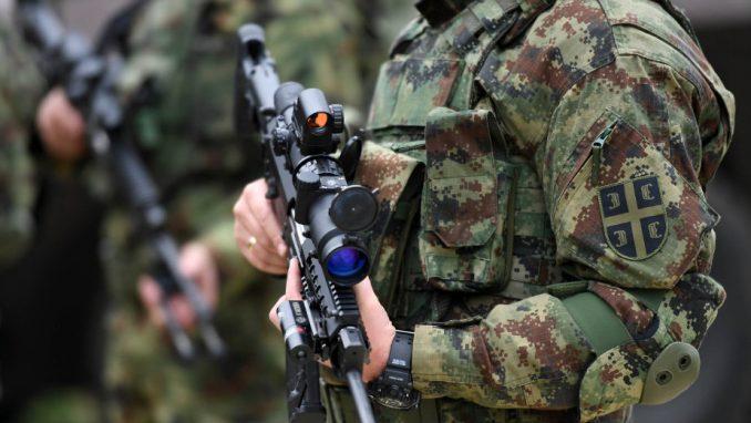 Vojska i žandarmerija Srbije raspoređena na granici sa KiM 1