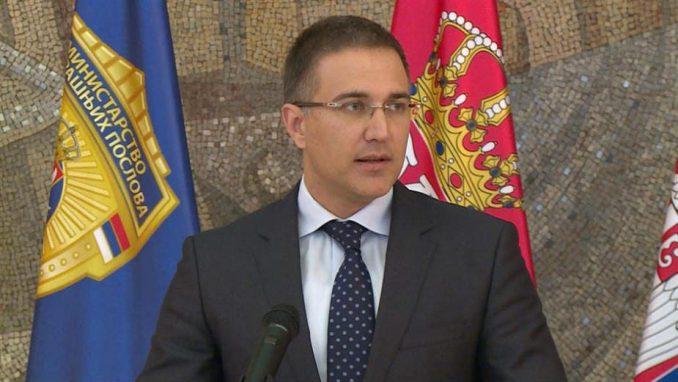 Ministar Stefanović osudio PUF zbog provociranja policije u Zrenjaninu 1