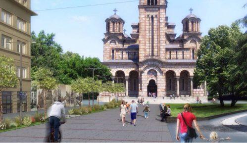 Plato ispred Crkve Svetog Marka novi urbani džep 1