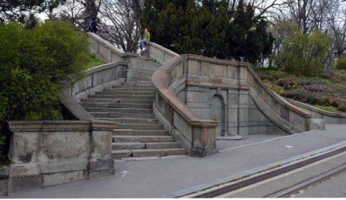 Rekonstrukcija Malog stepeništa na Kalemegdanu 14