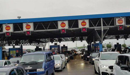 AMSS: Duže kolone vozila na ulazu i na izlazu iz Mađarske i Hrvatske 9