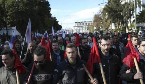 Na protestu zbog izmena imena Makedonije Mikis Teodorakis 10