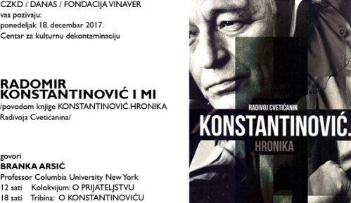 """Tribina """"Radomir Konstantitović i mi"""" u CZKD (LIVE STREAM) 12"""