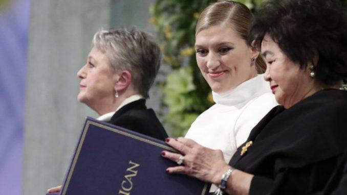 Dodeljena Nobelova nagrada za mir 1