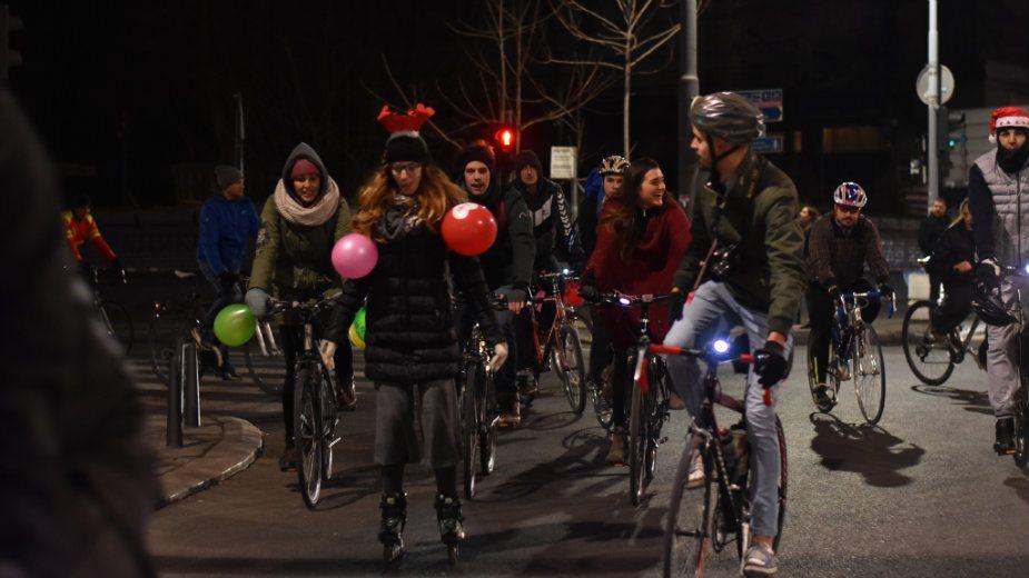 """Biciklisti održali """"parastos"""" za obećane staze u Beogradu 2"""