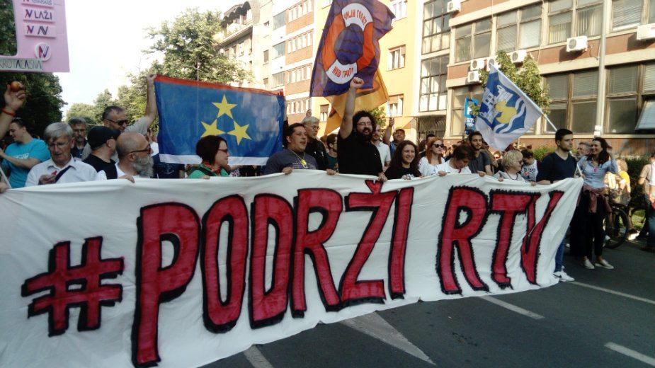 """Pokret """"Podrži RTV"""": Građani pobedili u borbi za RTV 1"""