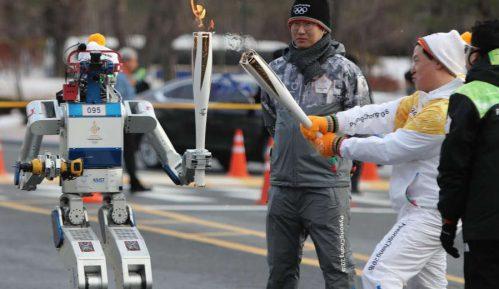 Robot nosač olimpijskog plamena 7