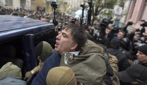 Demonstranti oslobodili Sakašvilija (VIDEO) 4
