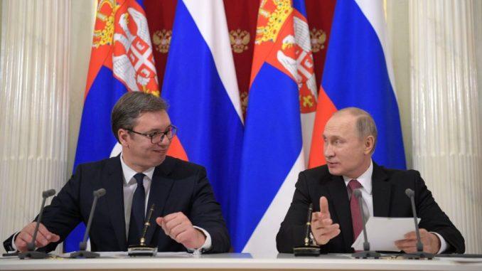 Putin potpisao ukaz: Vučiću orden Aleksandra Nevskog 1