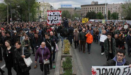 Nove prekršajne prijave protiv studenata zbog protesta 11