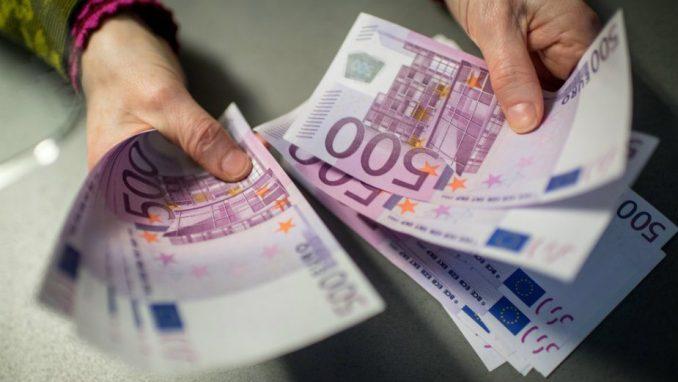 ECB: Mala mogućnost zaraze preko novčanica evra 1