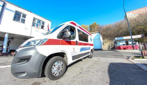 Hitna pomoć: Jedna osoba povređena u saobraćajnoj nezgodi u Železniku 1