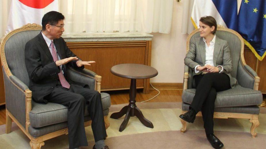 Brnabić: Srbija zainteresovana za japanske investicije 1