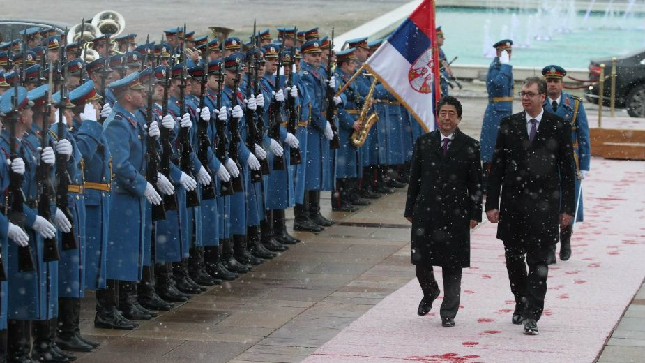 Vučić: Istorijska poseta; Abe: Nećemo zaboraviti pomoć 2