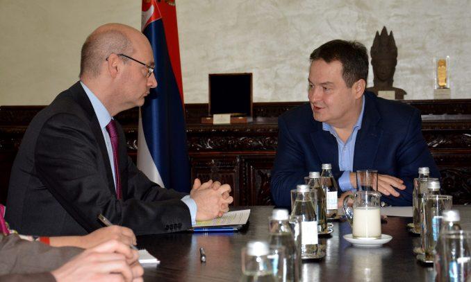 Dačić sa novim ambasadorom Francuske 3