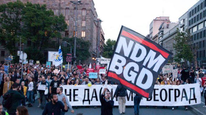 Protest: Koliko vredi život u Srbiji 1