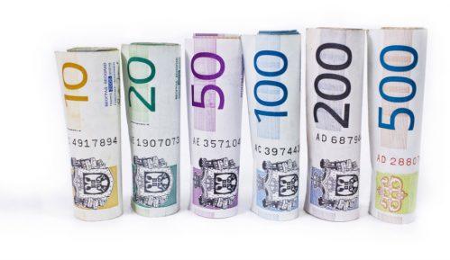 Prosečne zarade u Srbiji u januaru bile 54.521 dinar 8