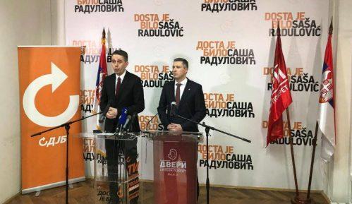 Dveri i DJB zajedno na beogradskim izborima 1
