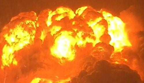 Jaka eksplozija u Lesteru 3
